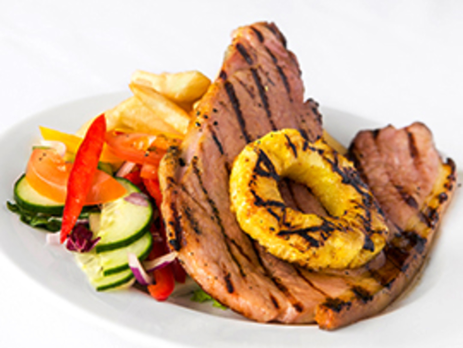 Chargrilled Gammon Steak