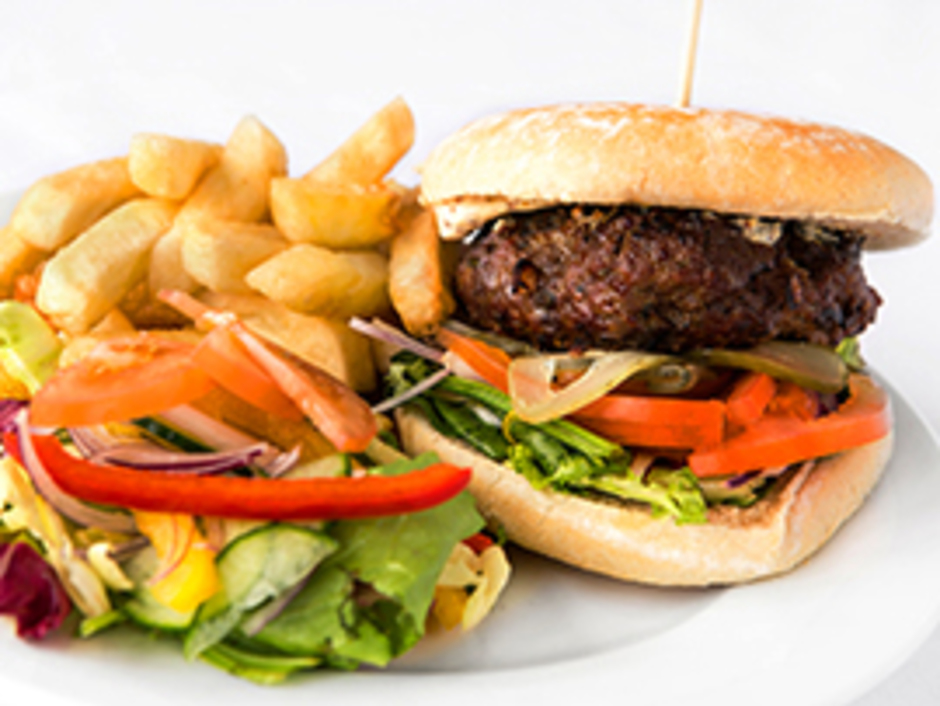 Hindhead Homemade Club Burger